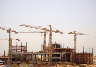 Construction site Egypt
