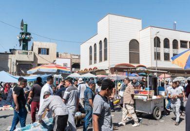Baghdad Iraq street market
