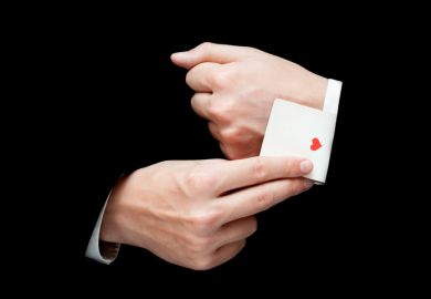 card trick sleight of hand ace up the sleeve illusion