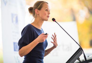 female conference speaker gender equity