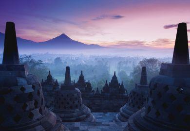 Indonesia Java Yogyakarta Borobodur Temple Buddhist Buddha