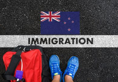 New Zealand immigration welcome mat