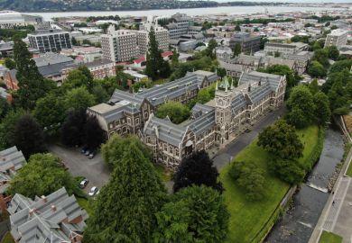University of Otago New Zealand South Island