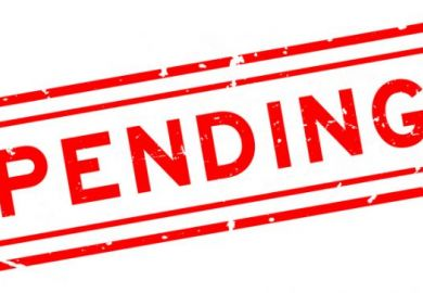 pending on hold on ice suspended