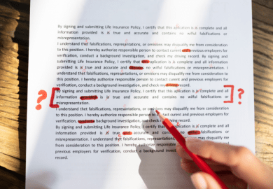 review bad review bias corrections red ink edit editing