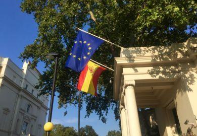 Spanish embassy in London