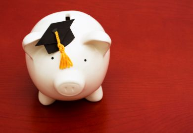 Tuition fees piggy bank