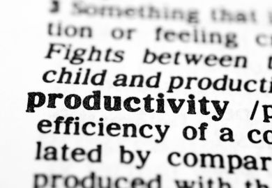 A dictionary definition of productivity