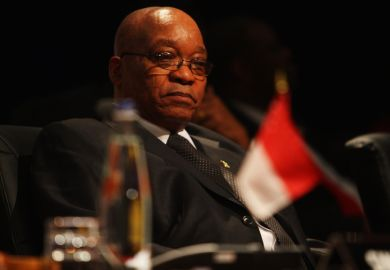 Jacob Zuma, president of South Africa