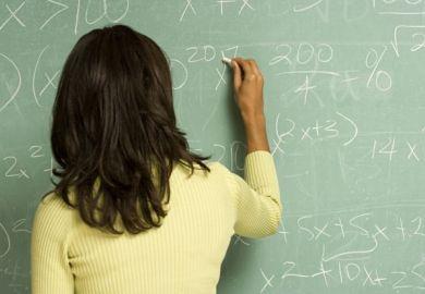 black female tutor