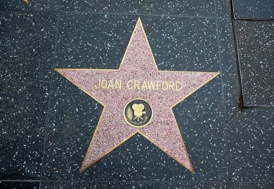 Joan Crawford Hollywood star