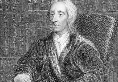 Illustration of John Locke