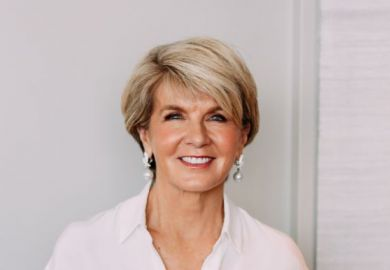 Julie Bishop ANU chancellor