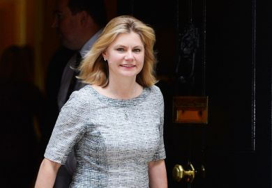 Justine Greening, education secretary