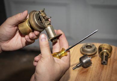 fixing a door knob