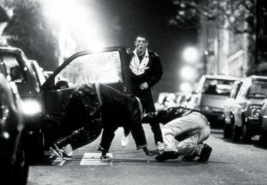 Film still from La Haine
