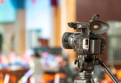 Lecture video camera
