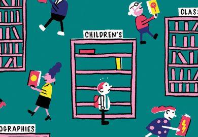 library-cartoon
