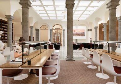 Library FSU Florence Palazzo Bagnesi Falconeri