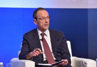 Lino Guzzella speaks at the World Academic Summit