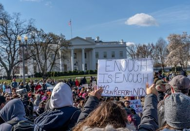 Students protest for greater gun control