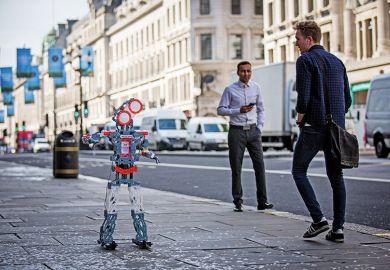 Meccano robot