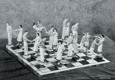 men women chessboard
