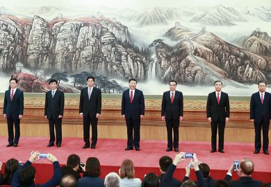 The seven most important people in the Chinese Politburo