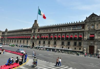 Mexico National Palace