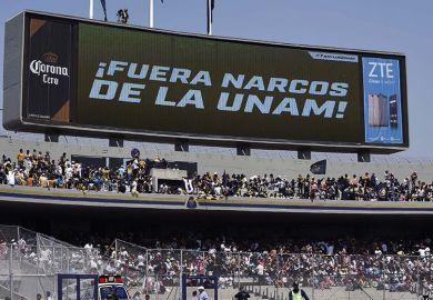 UNAM sign