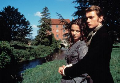 Emily Watson and James Frain in the 1997 BBC adaptation of The Mill on the Floss