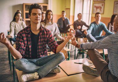 Mindfulness in class
