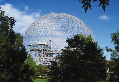 Montreal Biosphère, Buckminster Fuller, Montreal Expo, 1967