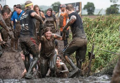 Tough Mudder contestants