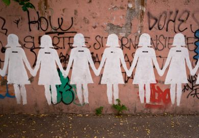Mural for International Day for the Elimination of Violence against Women