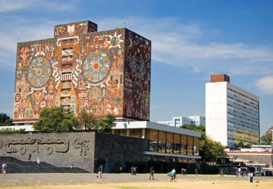 National Autonomous University of Mexico - second in the Latin America reputation ranking