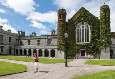 National University of Ireland, Galway, Aula Maxima, Quadrangle