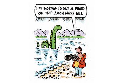 Nessie cartoon