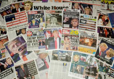 Newspapers report Trump victory