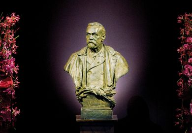 Nobel statue