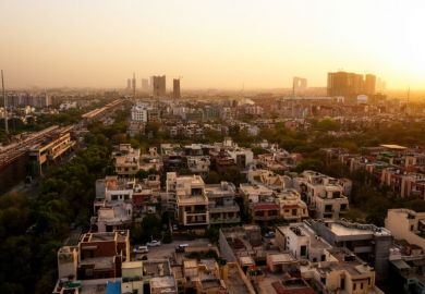 Noida cityscape