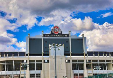 Ohio State University stadium
