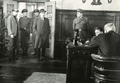Film still from 'The Spy Who Came in from the Cold', UK 1963