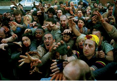 Film still from Shaun of the Dead