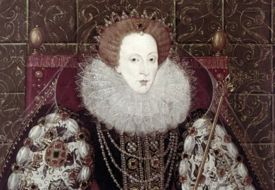Painting of Queen Elizabeth I, by John Bettes the Younger