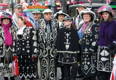 Pearly Kings and Queens, London