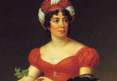 Portrait of Germaine de Staël, by François Gérard, 1810