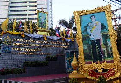 Portrait of Maha Vajiralongkorn, the King of Thailand