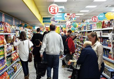 poundland shoppers