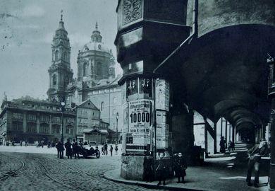 Radetzkyplatz, Prague, 1912